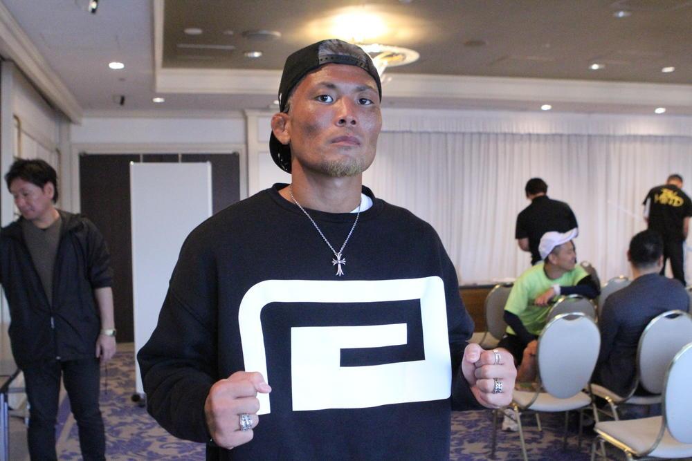 【DEEP】王者・武田光司「RIZIN1週間前に救急搬送されました。 4月の僕が本来の僕じゃないということを、今回の試合で見せたい」=10月22日(火・祝)後楽園