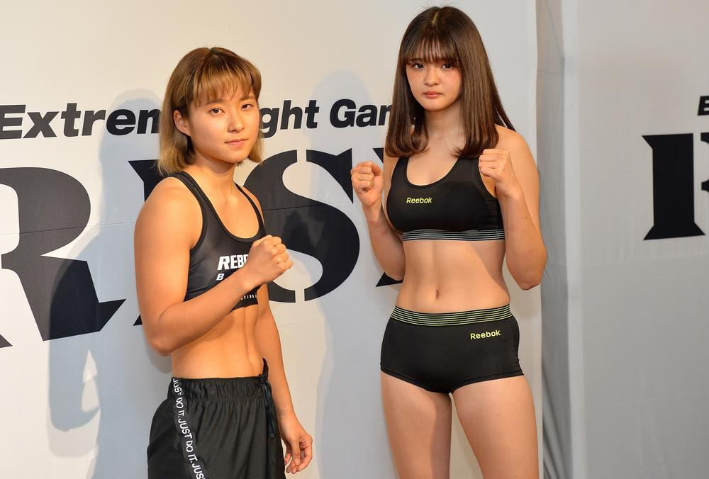 【RISE】AKARI「やりたいことをやって勝つ」宮崎若菜「倒すことも効かすこともできる」、JK対決の2人は「面白い試合になる」