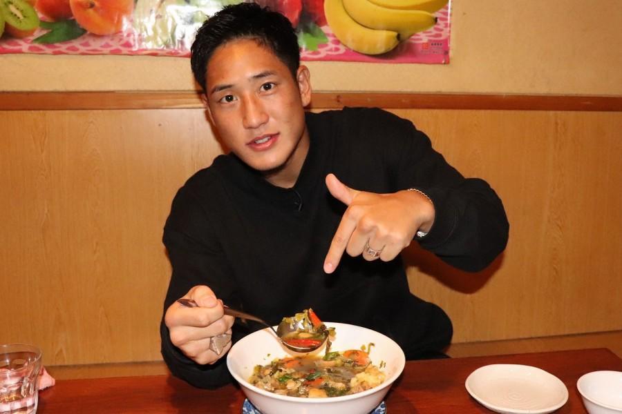 【K-1】ミャンマーの超過激格闘技王者と戦う林健太が、ミャンマーの激辛料理で精神力を鍛える
