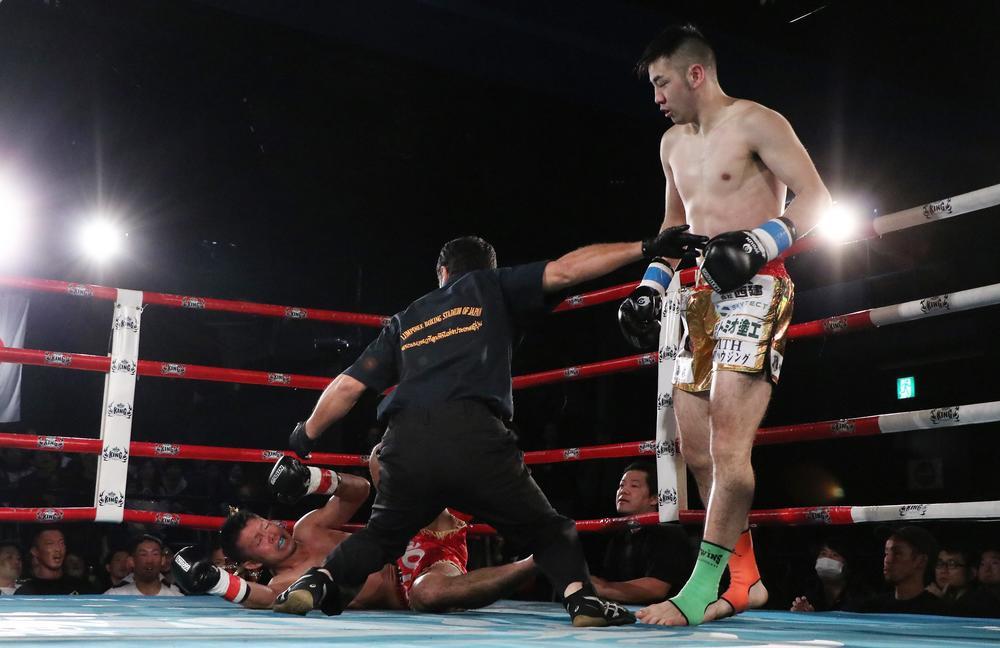 【ムエタイオープン】UMAが喜入衆を初回KO、岩浪悠弥も壱に初回KO勝ち、翔・センチャイジム引退