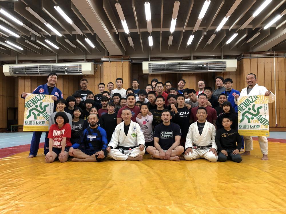 【QUINTET】第二の桜庭和志がここに「秋田ねわざ祭」に160人以上が参加