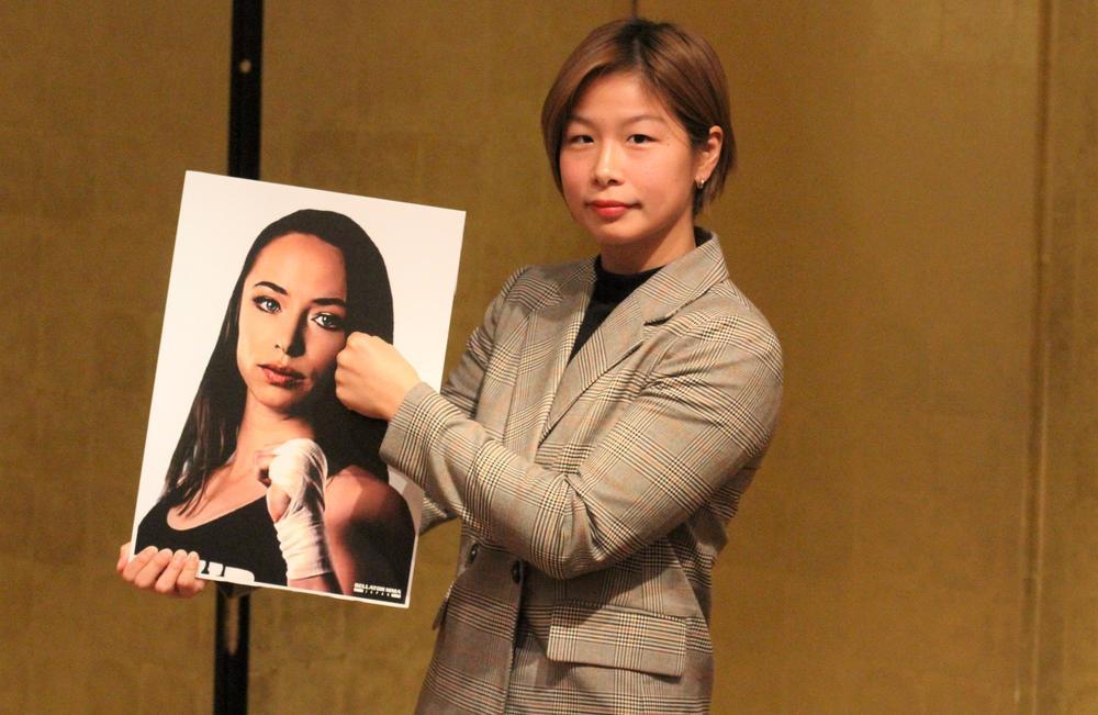 【RIZIN】浅倉カンナがケージに出陣、KOTC王者と激突「今の自分を超えていきたい」