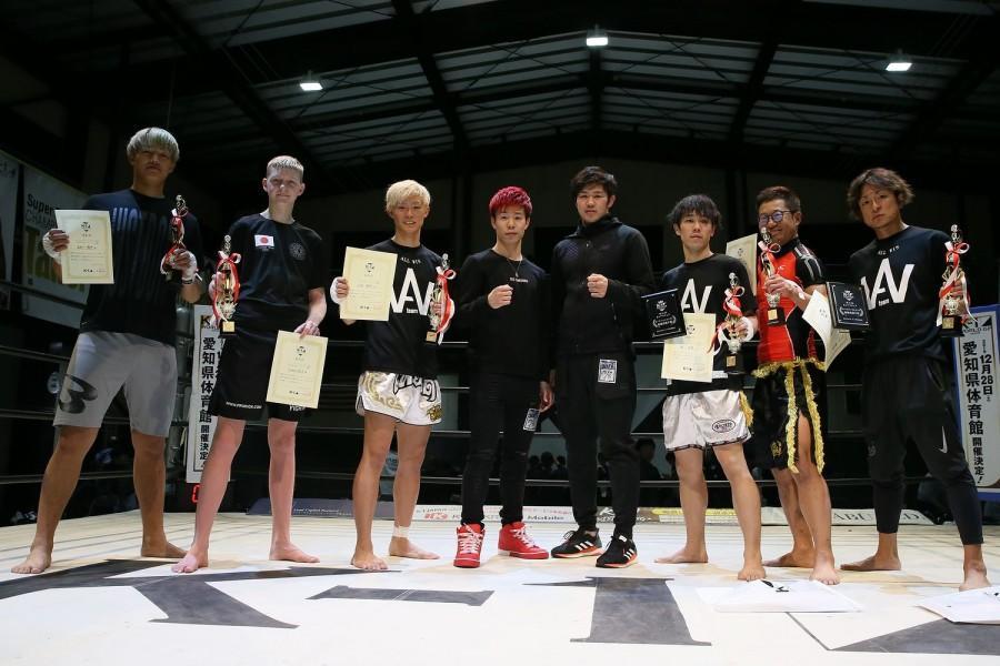 【K-1】安保瑠輝也率いるALL-WIN GYM勢が大躍進!来年3月の全日本大会への出場権をかけて熱戦続出=アマチュア大会