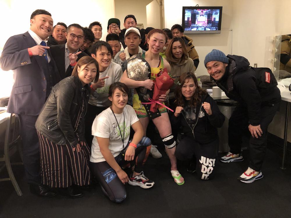 【PANCRASE】暫定王者となった藤野恵実「試合後、みんなの顔が見れて……すごく嬉しかったです」