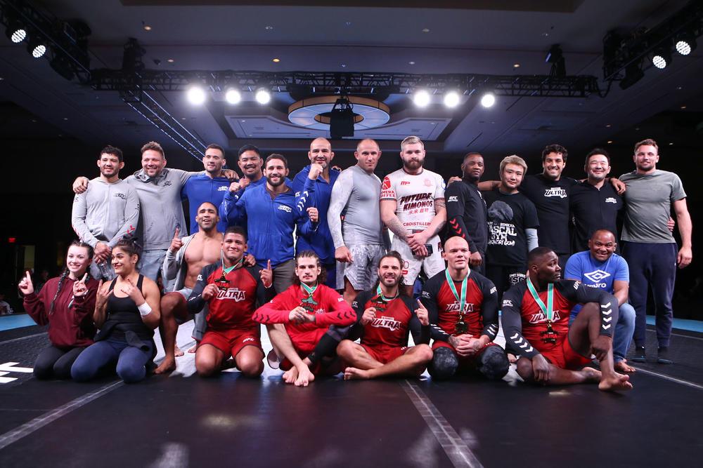 【QUINTET】「Team UFC」がお膝元ラスベガスで優勝! 「Team PRIDE」は1回戦敗退。先鋒で五味隆典がオマリーに一本負け。桜庭は大将戦ドロー=写真追加