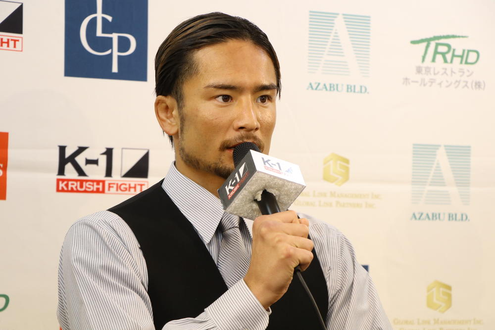 【K-1 KRUSH】島野浩太朗、チャンピオンになりたいとの志を持たせてくれた「卜部弘嵩選手と戦いたい」