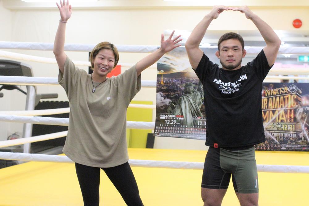 【RIZIN&Bellator】浅倉カンナ「いまはメンタル最強です」&扇久保博正「凄いな、俺ならちょっと戦えないです(笑)」