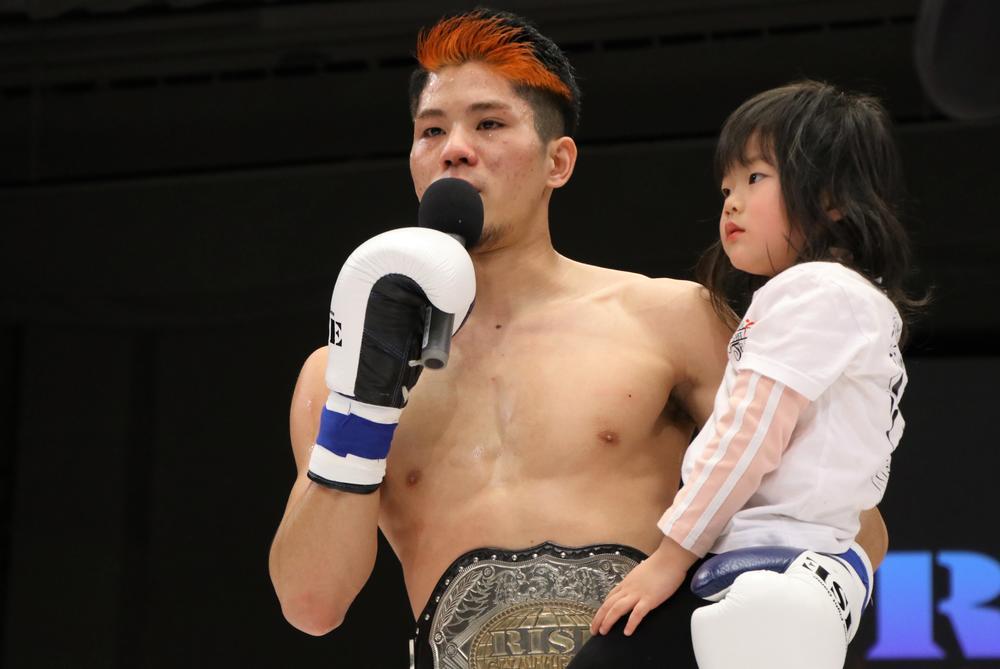 【RISE】原口健飛、衝撃KO後に涙のカミングアウト。17歳で父親に、親に認めてもらえず「苦しかった」