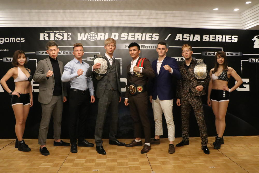 【RISE】1回戦で白鳥大珠vsヌンラーンレック、原口健飛vsチャド・コリンズ激突=ワールドシリーズ