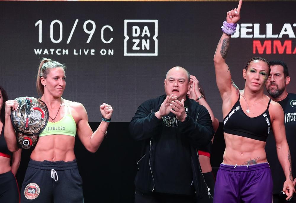 【Bellator】女子王座戦バッドvsサイボーグが火花! 大注目コールドウェルvsボリッチも計量パス=1.25「Bellator 238」