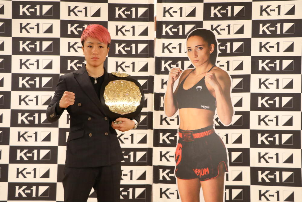 【K-1】初代女子王者KANAが王者第一戦「今年は全試合KOが目標。世界最高の試合をして勝ちたい」