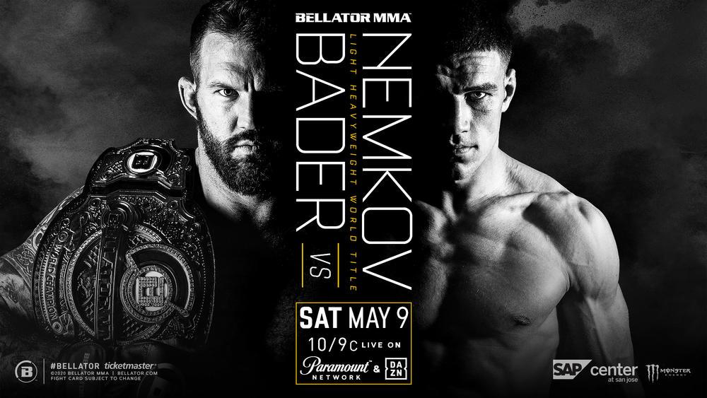 【Bellator】2冠王者ライアン・ベイダーが元RIZINのワジム・ネムコフを相手にライトヘビー級王座防衛戦