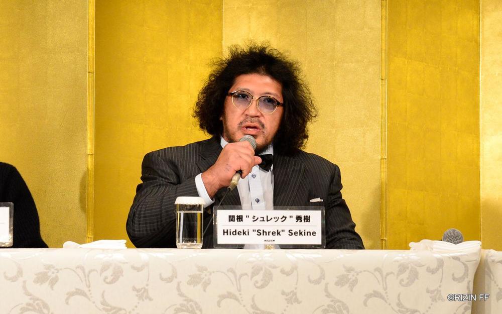 【RIZIN】関根シュレック秀樹「補導した少年たちに強さを見てもらいたい」=2.22 地元・浜松でRIZIN初参戦