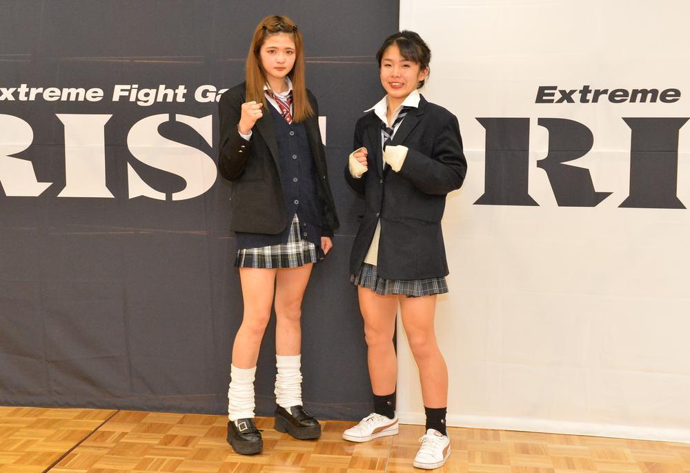【RISE GP】バチバチ女子高生対決、AKARI「ぶっ倒して勝つしかない」RAN「どこを潰そうか」