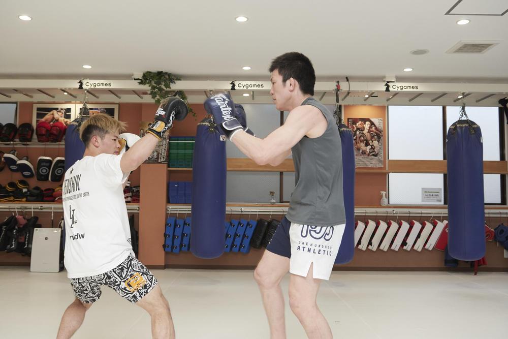 【GONG】青木真也と那須川天心がスパーリング対談で「思考の格闘技」を語る