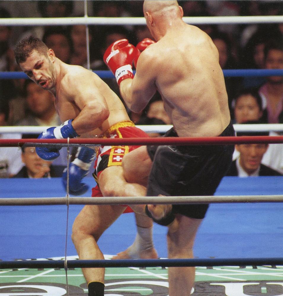 【1996年5月の格闘技】フグ・トルネードさく裂!アンディ・フグがベルナルドKOでグランプリ初制覇