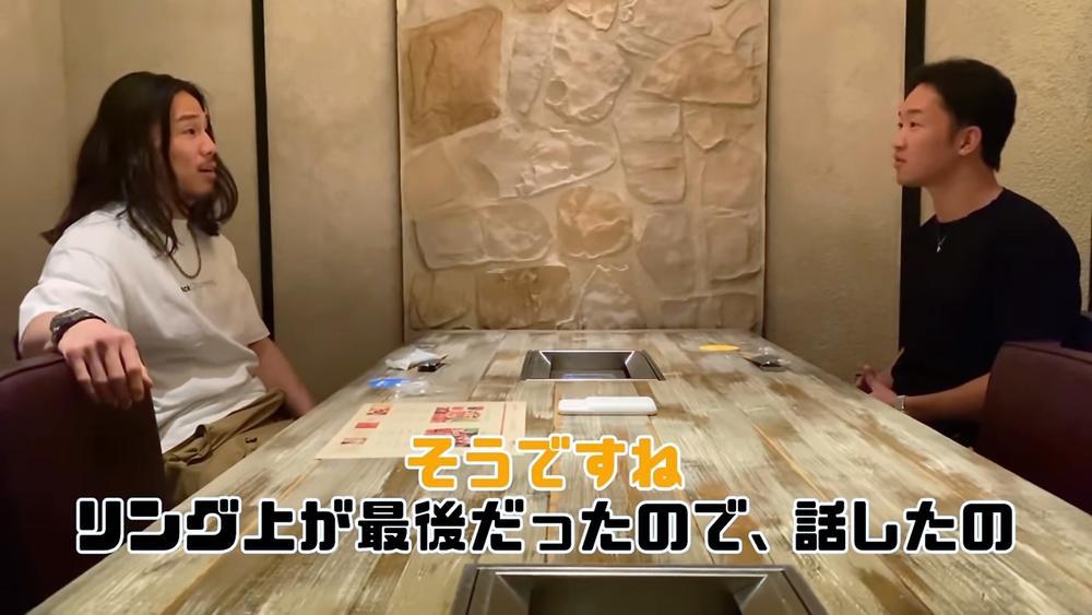 """【RIZIN】""""因縁の対決""""から1年、朝倉未来と矢地祐介がまさかの対談! リング上で交わした両者の言葉は?"""