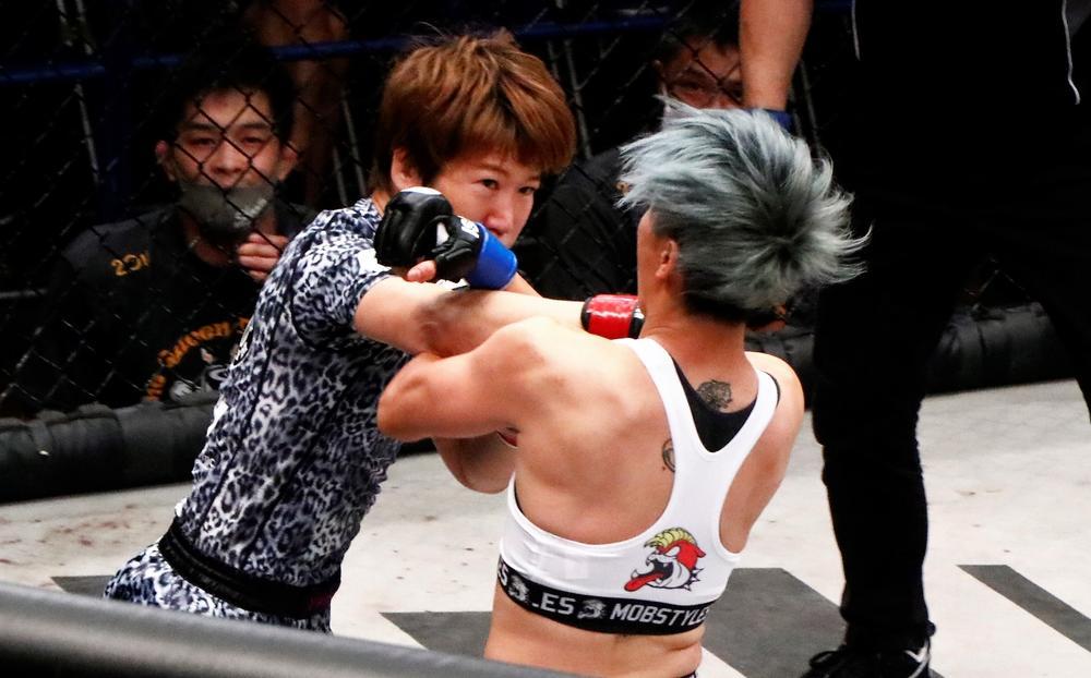 【修斗】魂の激戦制し、黒部三奈が初代女王に! 環太平洋は安藤達也が田丸1R TKOで新王者に