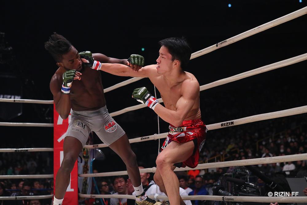 【RIZIN】UFC王者を目標とする朝倉海がマネル・ケイプに「目指してる所が同じだから必ずまた戦う」