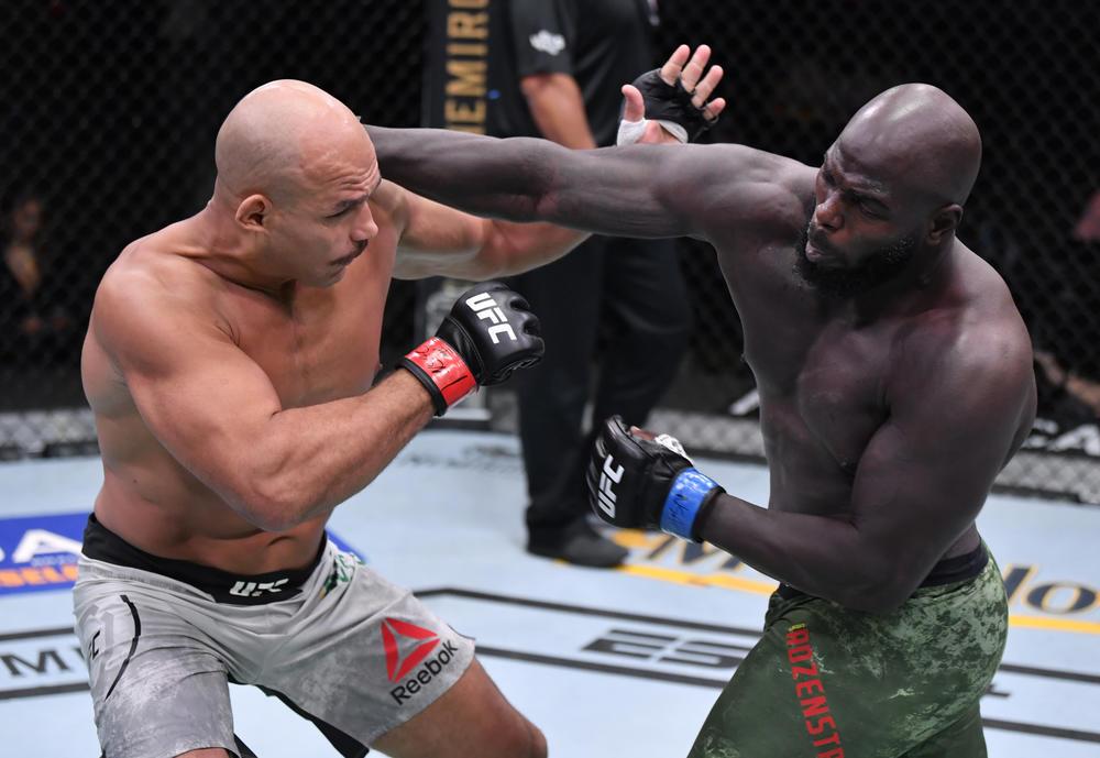 【UFC】RIZIN1勝でリリース、UFC4連勝後ガヌーに秒殺負けのホーゼンストライクが元王者JDSを2R TKO「この勝利が必要だった」