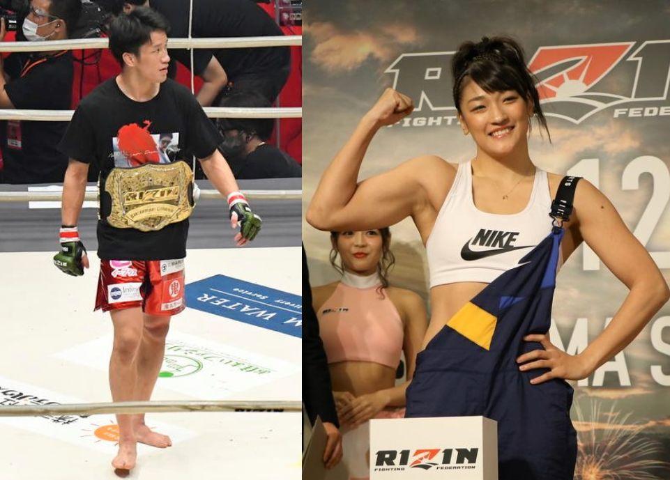 【RIZIN】朝倉海とRENAに榊原CEOが配信会見で出場を呼び掛け「それで世間と勝負したい」