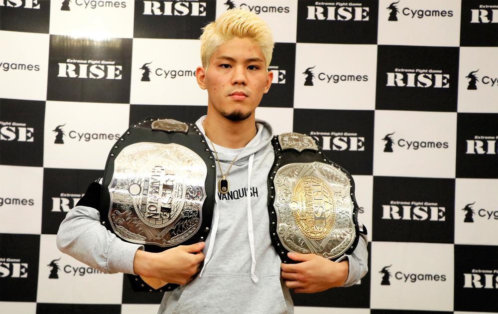 【RISE】DoA覇者・原口健飛が米ベラトール・キックボクシング参戦に興味「強さを見せてやりたい」