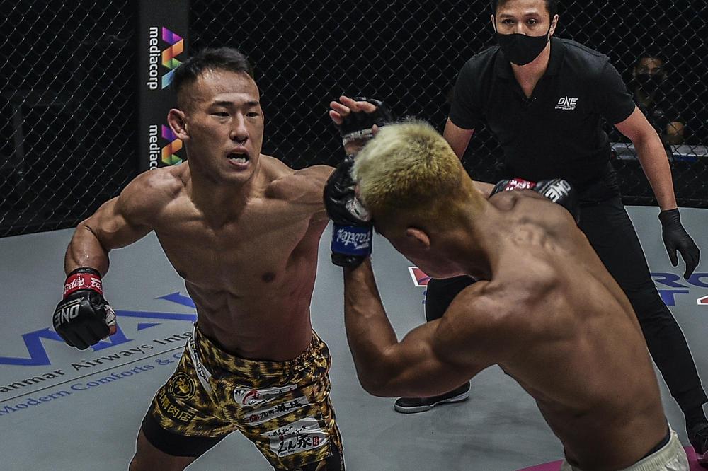 【ONE】高橋遼伍が「格闘代理戦争」出身のONEスター候補チャンミンをKO「キャリアが倍なので勝って当たり前」