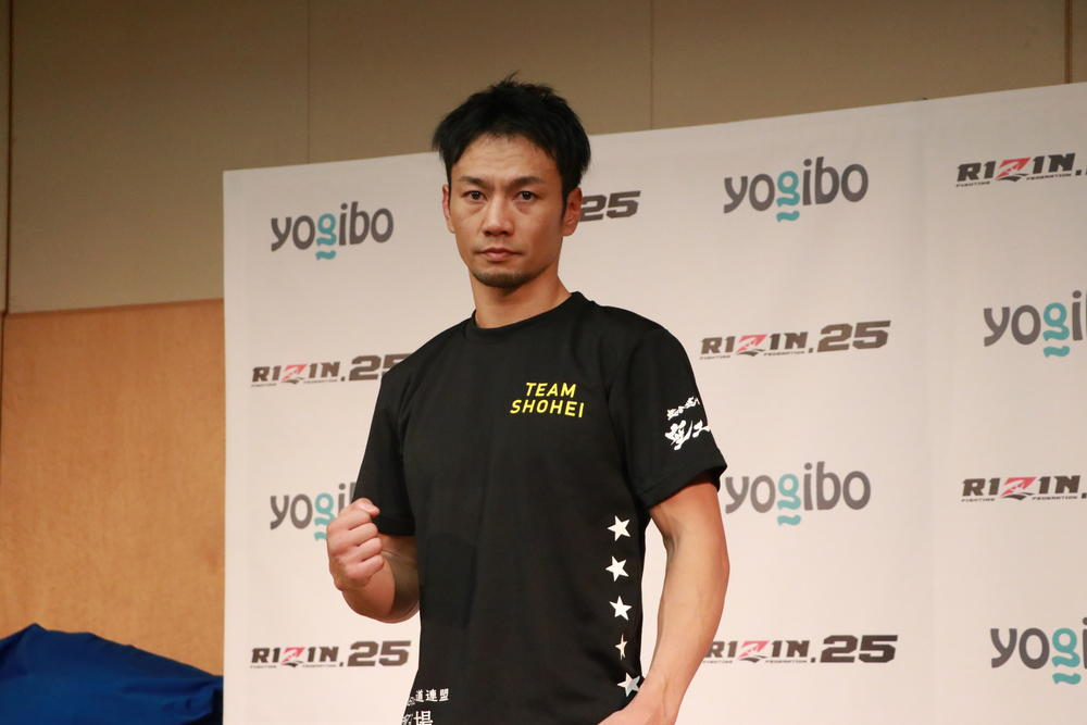 【RIZIN】第1試合残り1秒でKO勝利の麻原将平「KOでインパクト残せたので」年末参戦をアピール