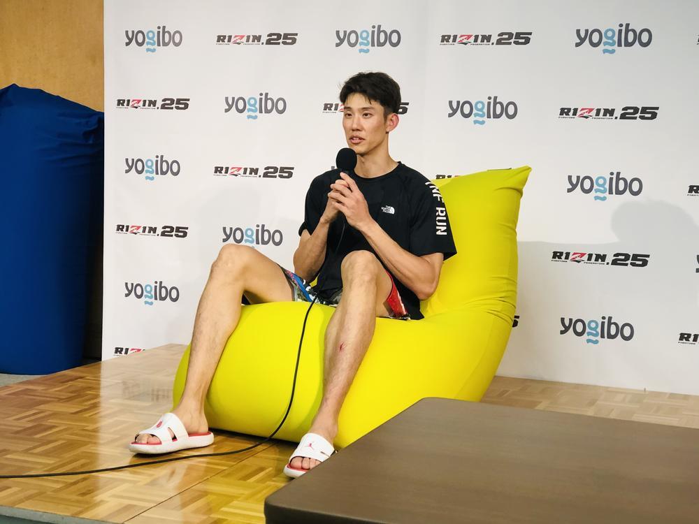 【RIZIN】テコンドー江畑秀範「東京オリンピック団体戦へ向けてしっかり練習したいと思っています」