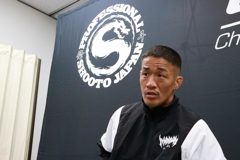 【修斗】大塚隆史「DEEPの選手と思って戦っている。(修斗のベルトは)怖かったら賭けなくてもいい。そのかわりやろうよ」