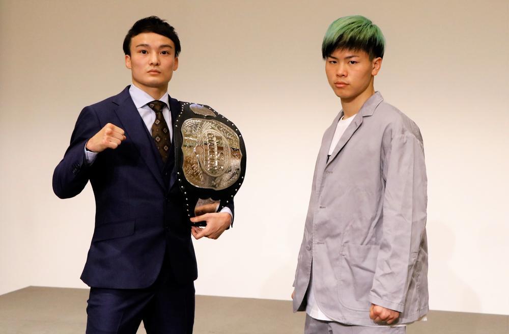 【RISE】那須川天心vs志朗の再戦はバンタム級3分3R延長1R、両者とも「圧倒的に勝つ」と宣言