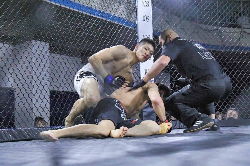 【Fighting NEXUS】金星! 森山壱政がジェイク・ムラタに一本勝ち!