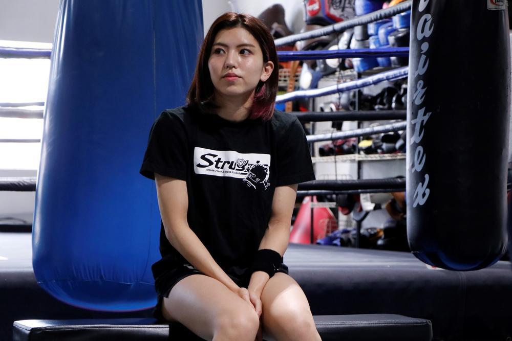 【KNOCK OUT】ぱんちゃん璃奈、年内に階級上げることも視野に「私が負けると思われる選手とやって勝つことが目標」