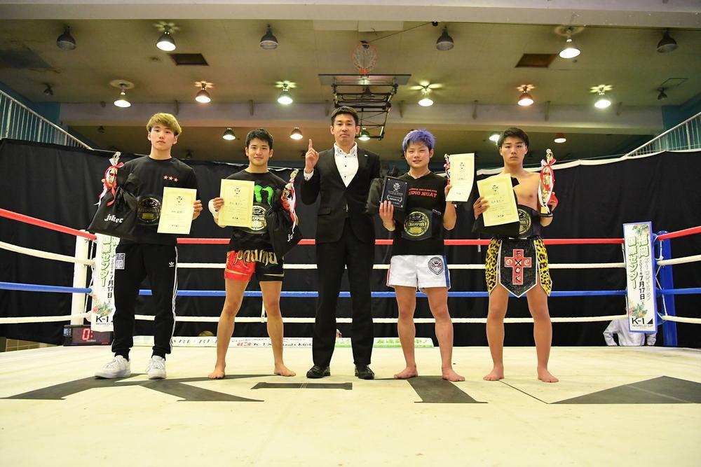 【K-1】第10回K-1アマチュア全日本大会を開催、Aクラスは4階級中3階級で10代の選手が優勝