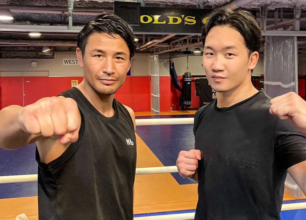朝倉未来に魔裟斗が「世界最高峰を目指すべき。俺とKIDみたいに立ち技でビッグマッチも」×未来「K-1王者とやってみたい」=対談&ミット打ち公開