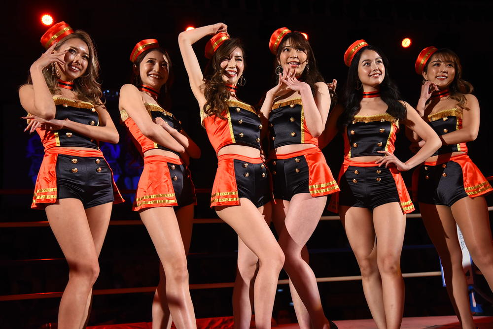 【Krush】ラウンドガールユニット『Krush Girls』が初パフォーマンス、それぞれの感想は