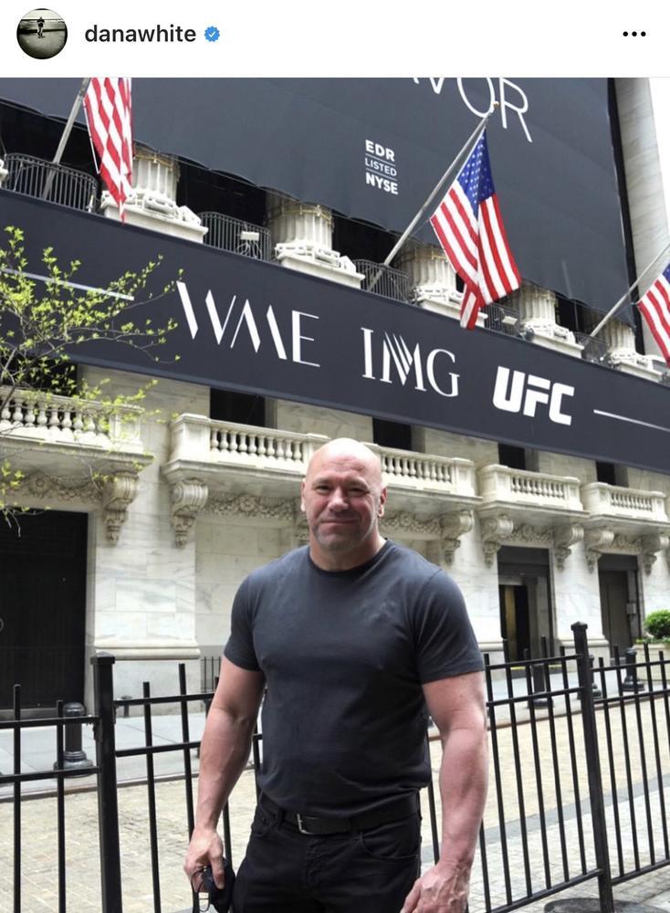 【UFC】UFCの親会社エンデバーが新規株式公開で5億ドル調達