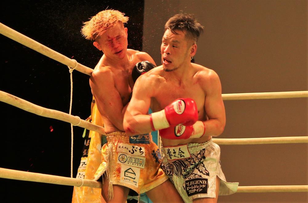 【NJKF】国崇が記念すべき100戦目で最終ラウンドにTKO勝ち「これからも新しい目標を見つけて頑張っていく」