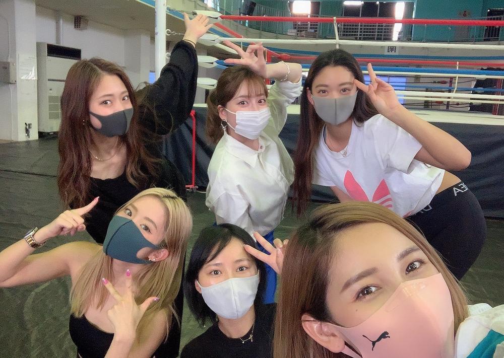 【K-1】ラウンドガールユニットK-1 GIRLS 2021が始動、個性強めなメンバーが全員揃って練習開始