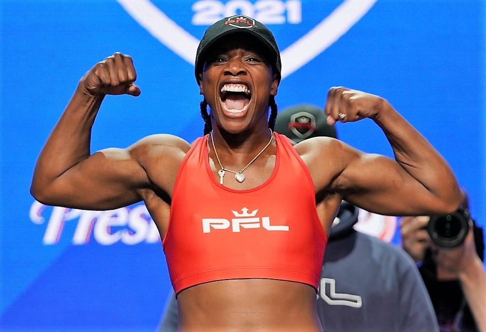 【PFL】女子ボクシング世界4団体統一王者&無敗シールズがMMAデビュー戦の計量パス、ペティスが欠場=6.10 PFL