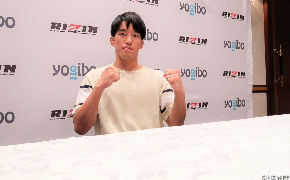 【RIZIN】朝倉海、大晦日からの進化とトーナメント1回戦突破に自信「僕の得意な部分で戦う時間が来るんじゃないかな」
