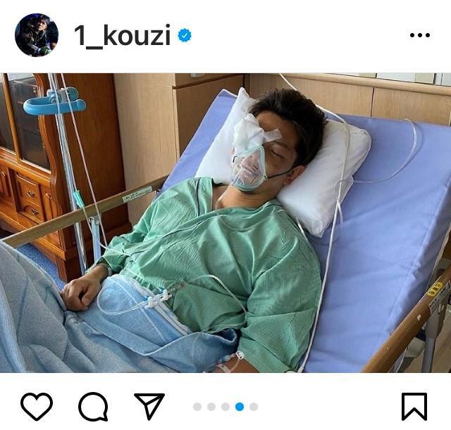 【RIZIN】皇治が入院中の写真を公開、改めて梅野源治に謝罪と感謝の言葉「しっかり受け止め生きていきます」
