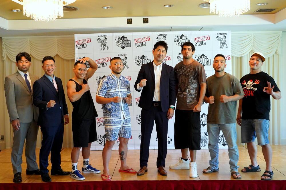 【ラウェイ】渡慶次幸平と東修平が激闘予告、新型格闘技アンビータブルは今後世界王者を認定へ