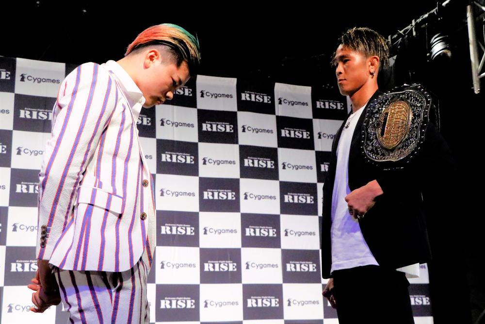 【RISE】那須川天心vs鈴木真彦の会見全コメント、那須川はイライラを隠さず、鈴木は「みんなどうせ負けるやろと思っているでしょうけれど、一発当ててそこを引っ繰り返したい」