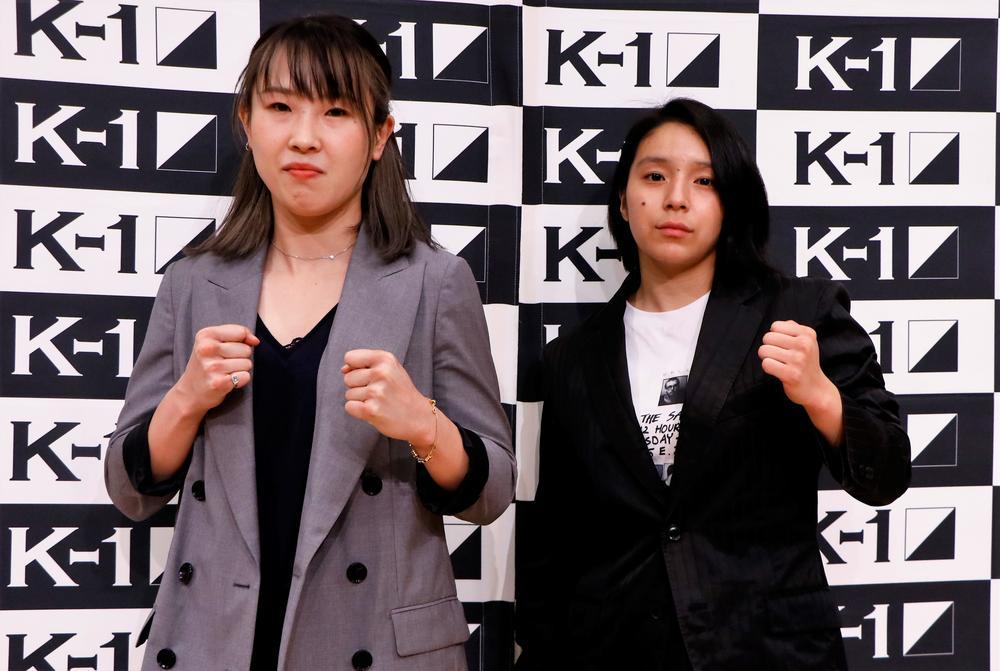 【K-1】無敗・高梨knuckle美穂に挑む空手出身でプロ3戦目の美伶、勝つ自信は「100%です」高梨は「ぶっ倒す」