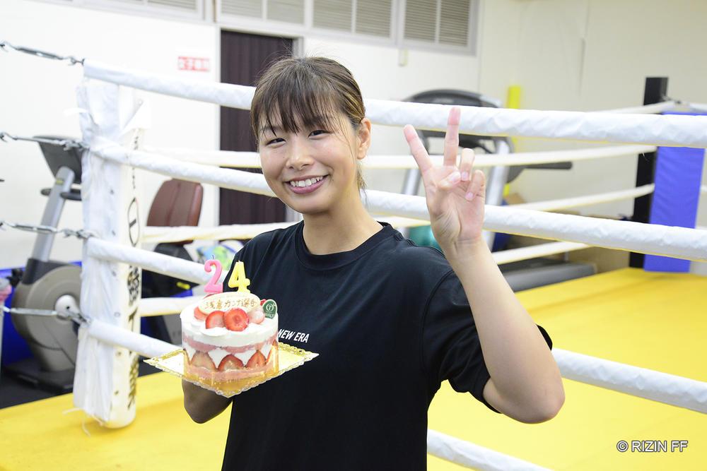 """【RIZIN】浅倉カンナ、24歳の決意「次、挑戦できるなら絶対にベルトを獲ってやる」。そのために女王・浜崎に「""""怖いな""""と思わせるような試合を」"""