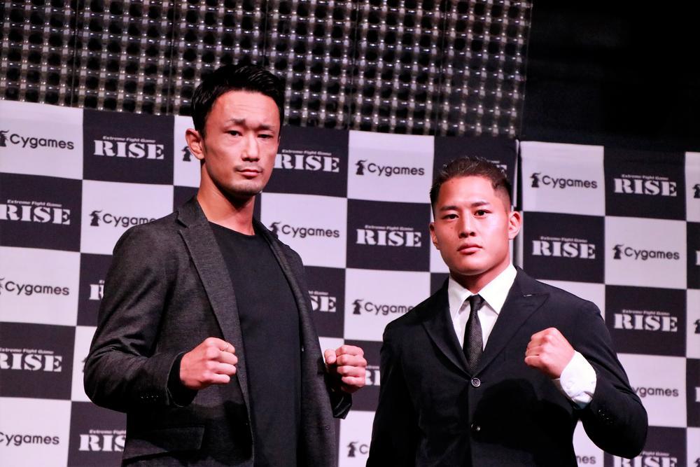 【RISE】梅野源治vs大雅の意外な対決が決定、両者ともテーマは「闘争心」をあげ「削り合いしたい」(梅野)「1RでKO」(大雅)