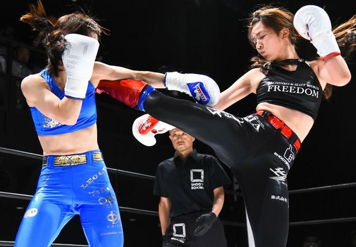 女神 シュート ボクシング