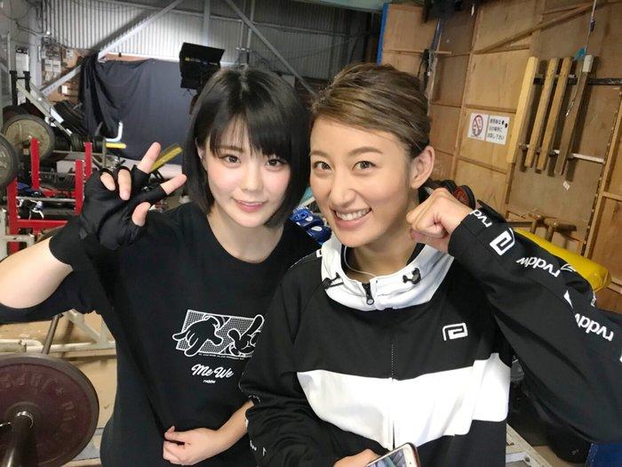 ぱんちゃん璃奈と華DATEがチームを結成し、極楽とんぼ・山本圭壱と本気の殴り合い