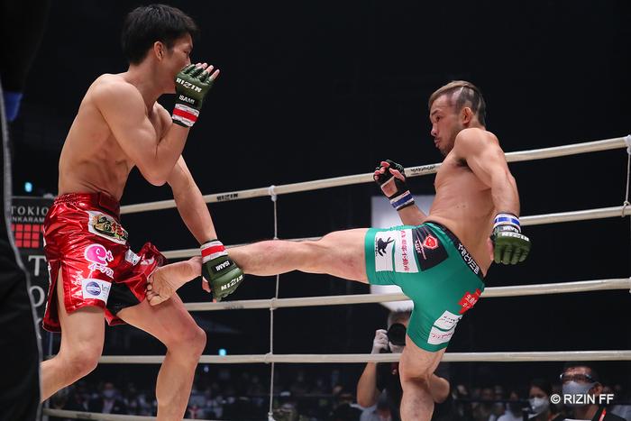 RIZIN】朝倉海に1R TKO負け、扇久保博正「まだ立とうと思ったところで ...